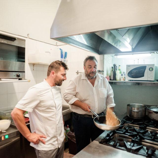 Chef Osteria D'Alberto